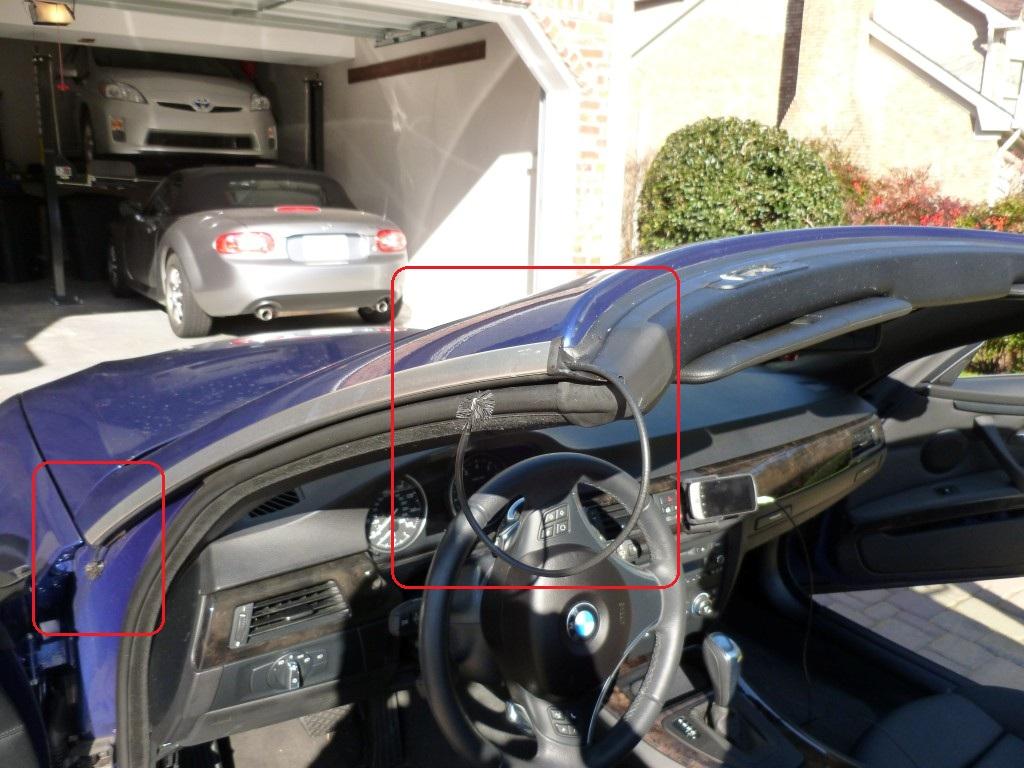 Bmw E93 Convertible Roof Leak